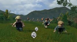 Lego Jurassic World Wallpaper 1080p