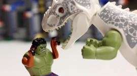 Lego Jurassic World Wallpaper HQ