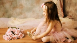 Little Ballerinas Wallpaper