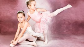 Little Ballerinas Wallpaper For PC