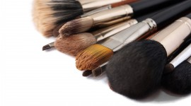 Makeup Brushes Wallpaper Background