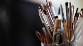 Makeup Brushes Wallpaper Download