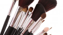 Makeup Brushes Wallpaper For IPhone 6
