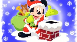 Mickey Mouse And Christmas Image Download
