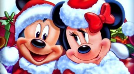 Mickey Mouse And Christmas Photo Download