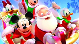 Mickey Mouse And Christmas Photo Free