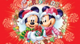 Mickey Mouse And Christmas Photo#2