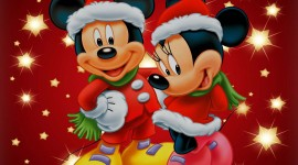 Mickey Mouse And Christmas Wallpaper