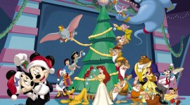 Mickey Mouse And Christmas Wallpaper Free