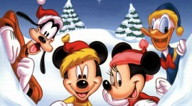 Mickey Mouse And Christmas Wallpaper HQ