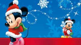 Mickey Mouse And Christmas Wallpaper#1