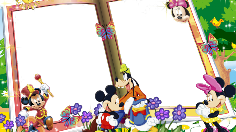 Mickey Mouse Frame wallpapers high quality