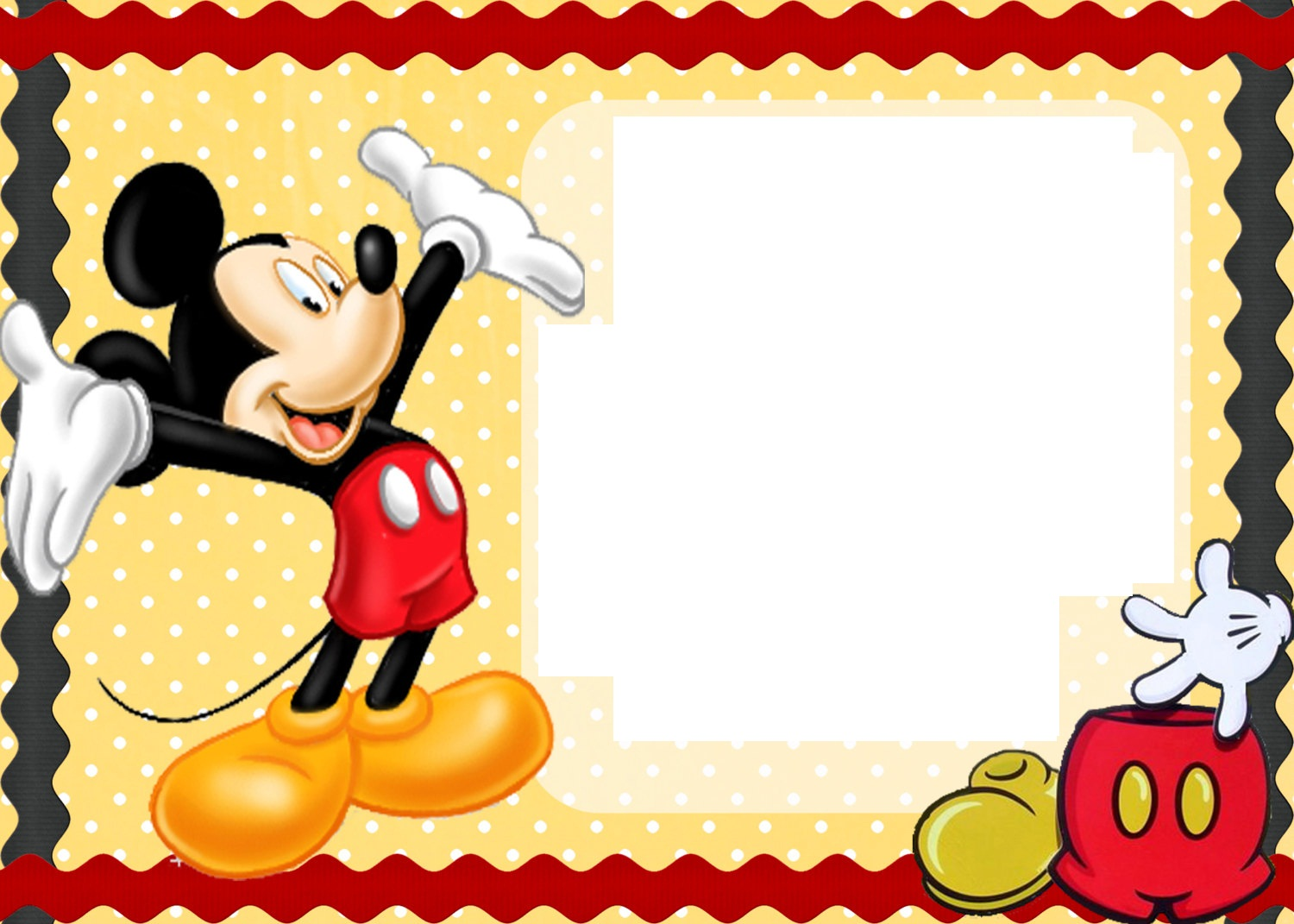 Mickey Mouse Frame Wallpapers High Quality | Download Free