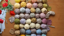 Natural Dyes Wallpaper