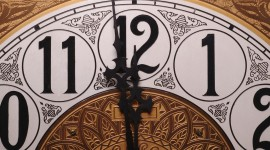 New Year Clock Photo Download