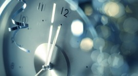 New Year Clock Wallpaper For Desktop