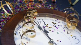 New Year Clock Wallpaper Gallery