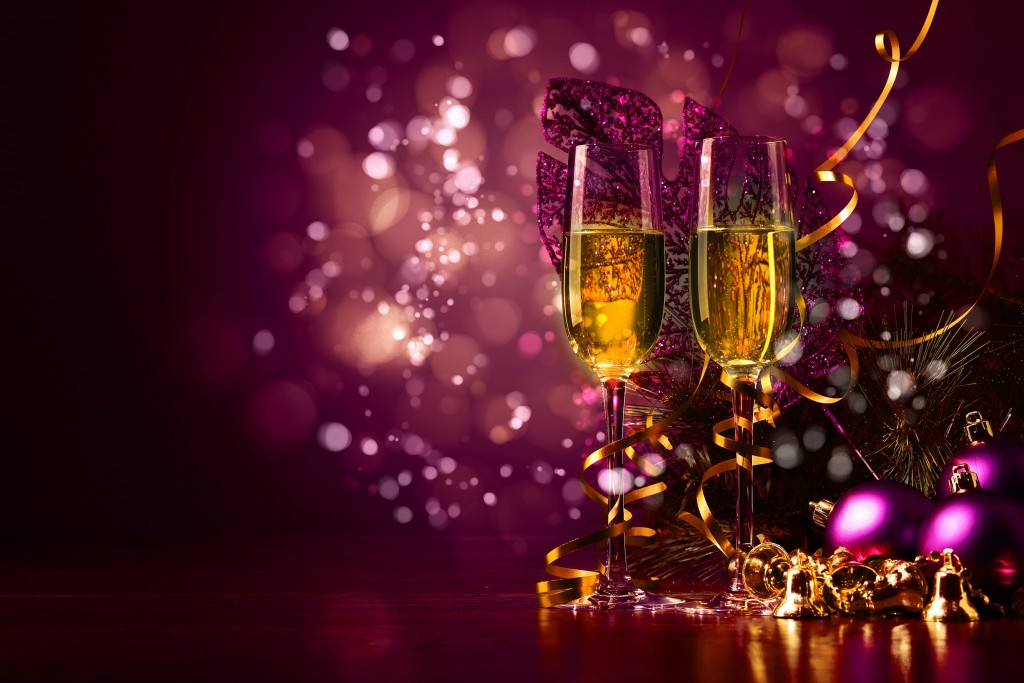New Year's Glasses wallpapers HD