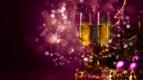 New Year's Glasses wallpapers high quality