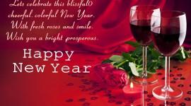 New Year's Glasses Desktop Wallpaper HD
