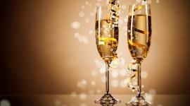 New Year's Glasses Photo