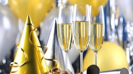 New Year's Glasses Photo Download