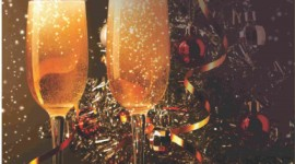 New Year's Glasses Wallpaper For IPhone