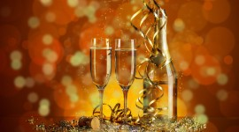New Year's Glasses Wallpaper Gallery