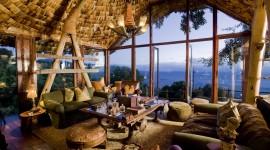 Ngorongoro Crater Lodge Desktop Wallpaper