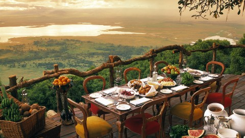 Ngorongoro Crater Lodge wallpapers high quality