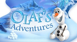 Olaf's Frozen Adventure Best Wallpaper