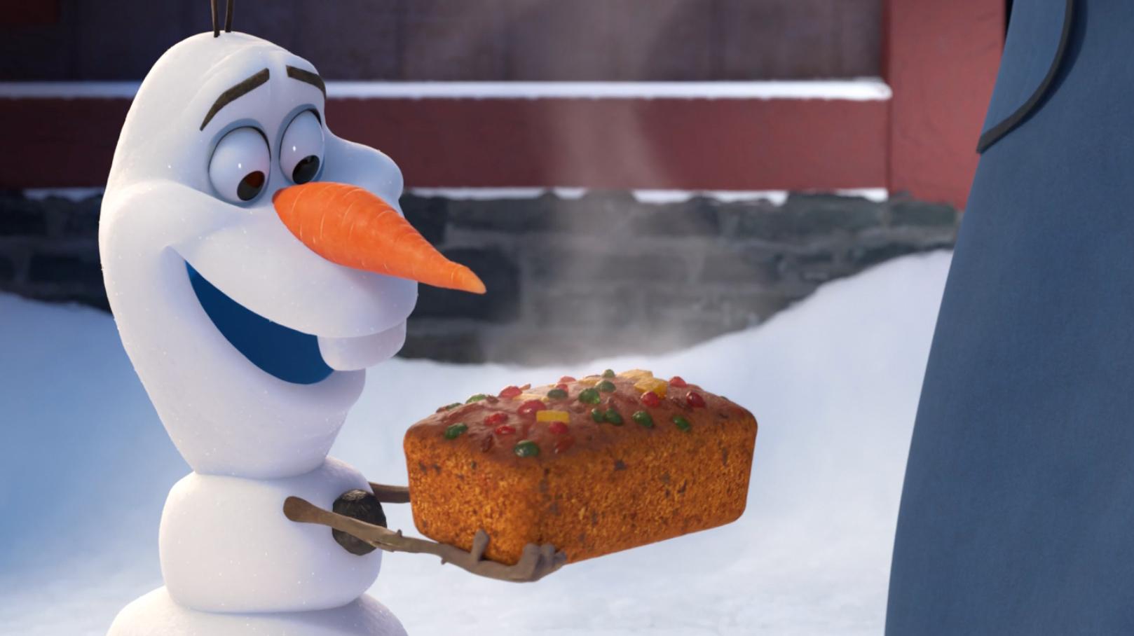 Olafs Frozen Adventure Desktop Wallpaper