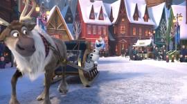 Olaf's Frozen Adventure Wallpaper Free