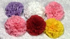Paper Flowers Desktop Wallpaper For PC