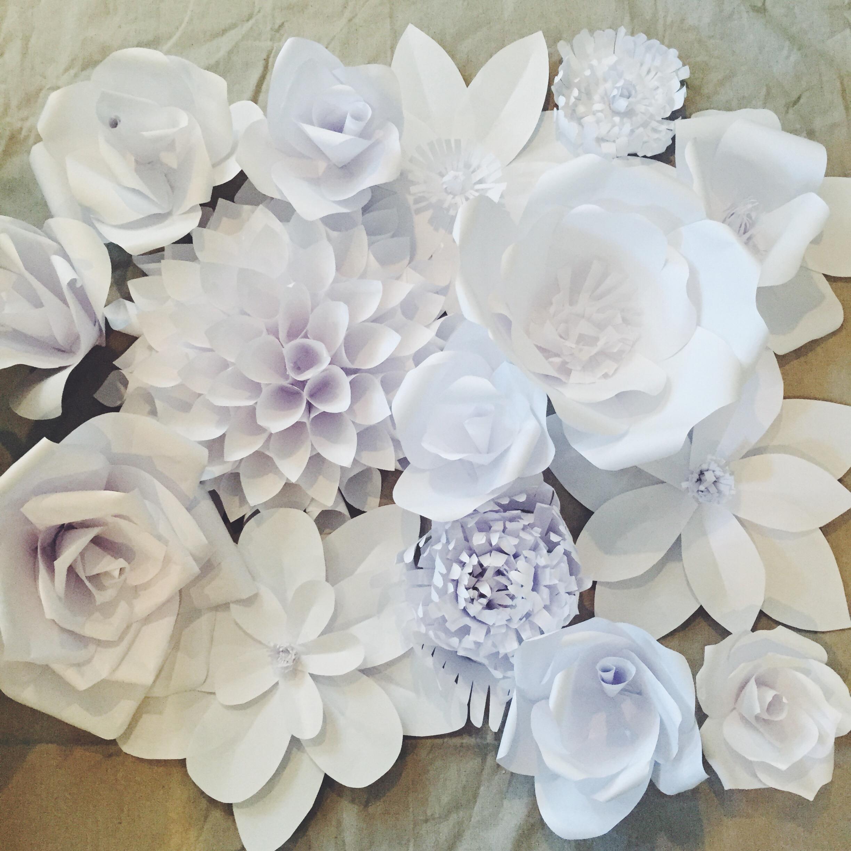 Цветы из офисной бумаги своими руками 263