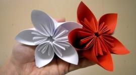 Paper Flowers Desktop Wallpaper#2