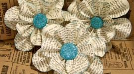 Paper Flowers Photo Download