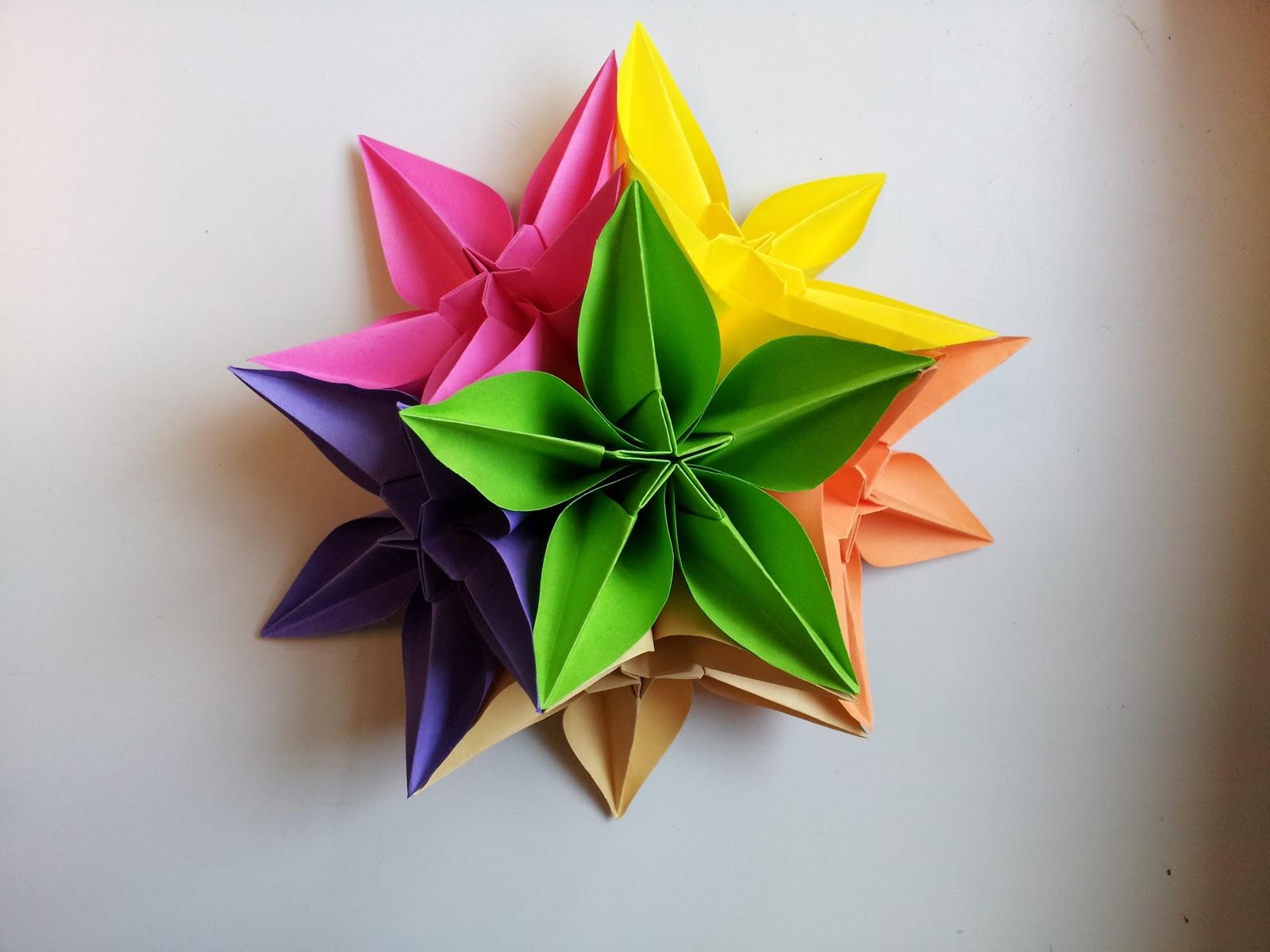 Поделки из бумаги своими руками объемные цветы