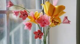Paper Flowers Wallpaper