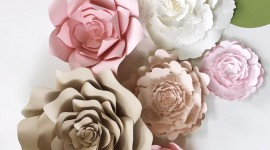 Paper Flowers Wallpaper For Android#1
