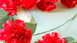Paper Flowers Wallpaper For IPhone
