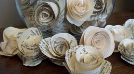 Paper Flowers Wallpaper HQ#1