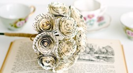Paper Wedding Bouquets Photo Free