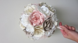 Paper Wedding Bouquets Photo Free#4