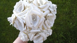 Paper Wedding Bouquets Photo Free#5