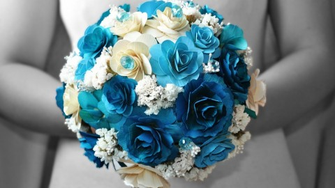 Paper Wedding Bouquets wallpapers high quality