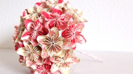 Paper Wedding Bouquets Wallpaper Full HD