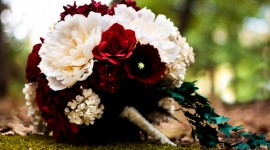 Paper Wedding Bouquets Wallpaper HQ