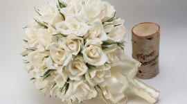 Paper Wedding Bouquets Wallpaper#1