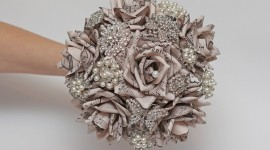 Paper Wedding Bouquets Wallpaper#2